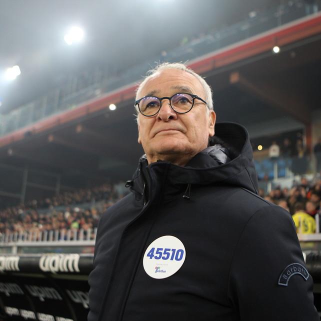 Ranieri si conferma mister Derby: non ne ha mai perso uno