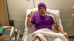 """""""Operazione andata, sto bene"""": Ribery manda Instagram in tilt"""