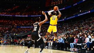King James trascina i Lakers alla vittoria, ok Indiana e Denver