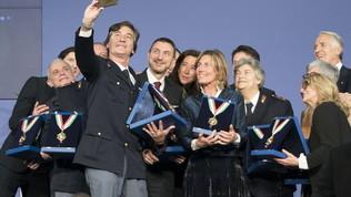 Sfilata di campioni ai Collari d'Oro 2019