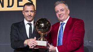 """Mendes: """"CR7 il migliore, un'ingiustizia il Pallone d'Oro a Messi"""""""