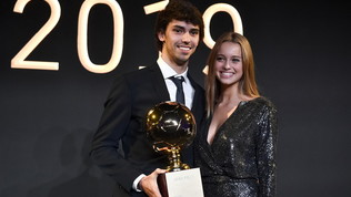 "Golden Boy 2019 aJoao Felix:""Dedicato a famiglia e compagni"""