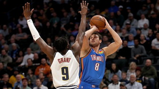 Gallinari guida la rimonta di Okc, Dallas ferma la corsa di Milwaukee