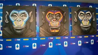 Tre scimmie contro il razzismo, Milan e Roma si dissociano