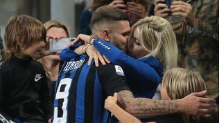 """Wanda: """"Niente sesso prima delle gare, Psgmeglio dell'Inter"""""""