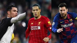 CR7-Messi-Van Dijk, ci risiamo: sfida per il Globe Soccer Awards