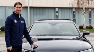 Real, un'Audi per Natale: la più costosa a Sergio Ramos