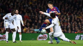 Barça e Real non si fanno male: il Clasicosi ferma sulla linea