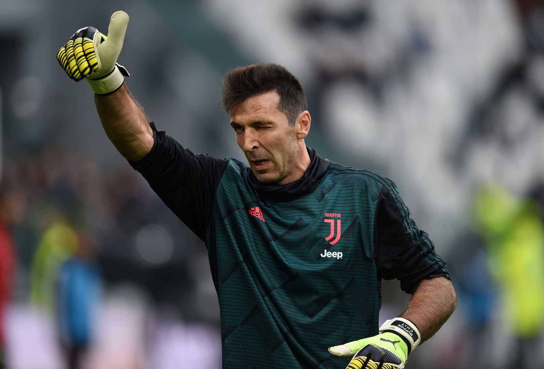 2) Gianluigi Buffon: 8,7 milioni di follower