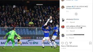 "Ronaldo: ""Chiamatemi CR7 AIR JORDAN!!""   Materazzi: ""Quasi come me"""