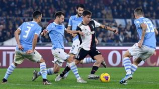 Juve-Lazio:sarà una sfida equilibrata, ma occhio a Dybala