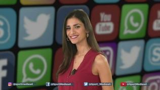 Social Sportmediaset: Pazzini redarguisce Ibra, Zaniolo-Mancini ugole d'oro