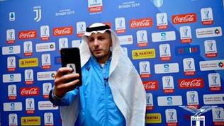 La Lazio a Riad aspetta la Juve: Immobile fa lo sceicco