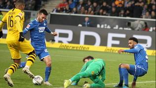 Dortmund, suicidio nel finale: Kramaric stende i gialloneri