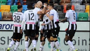 Udinese, scatto salvezza: Cagliari ancora ko