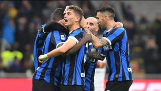 Lukaku-Esposito, l'Inter distrugge il Genoa e condanna Thiago Motta: Conte non molla la Juventus