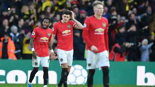 Il Chelsea fa uno scherzetto a Mou, United sempre più giù
