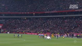 Olanda, Ajax a valanga sul Den Haag