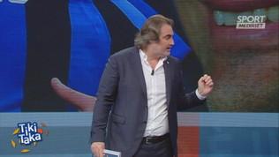 """Tiki Taka, Vieri difende Lukaku: """"Quale attaccante non sbaglia un gol?"""""""