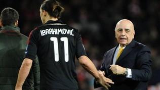 """Galliani: """"Il sogno Ibra al Monza è svanito. Milan? No comment"""""""