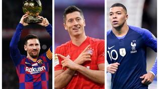 Lewandowski capocannoniere 2019, Messi e Mbappé sul podio