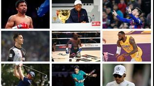 Mayweather, CR7, Lebron: gli sportivi più pagati del decennio