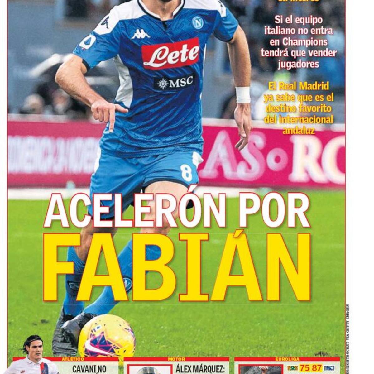 Il Napoli è sotto attacco: assalto Real a Fabian Ruiz