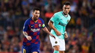 Dalla Spagna: Messi non vuole Lautaro al Barcellona