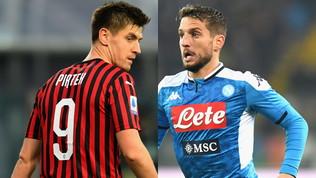Niente Cavani? Simeone guarda in Serie A:Piatek o Mertens