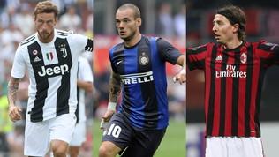Da Marchisio a Sneijder, quanti grandi ritiri nel 2019