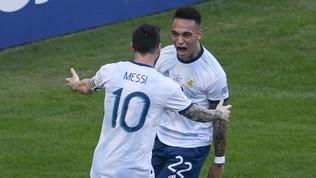 Lautaro meglio di Messi: è il goleador 2019 della Nazionale