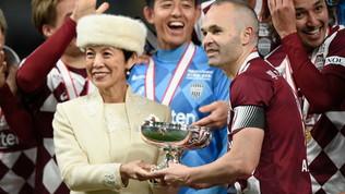 Iniesta alza il primo trofeo del 2020: trionfo del Vissel Kobe