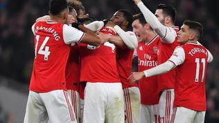 L'Arsenal fa festa mettendo ko lo United