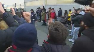 Milan, tifosi in delirio per Ibrahimovic