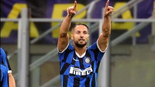Inter: risentimento muscolare per D'Ambrosio, niente Napoli