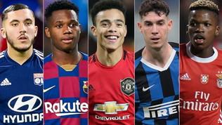 L'Uefa scommette su 50 giovani: talenti da seguire nel 2020