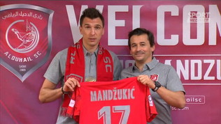 "L'Al Duhail""presenta Mandzukic"