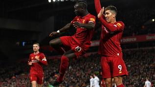 Il Liverpool fa il vuoto: Salah e Mané stendono lo Sheffield Utd