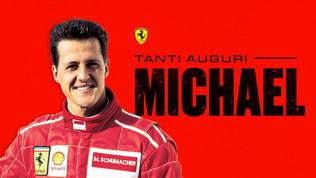 """Schumi compie 51 anni: """"Tanti auguri Michael"""""""