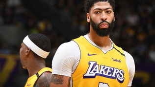 Lakers e Rockets volano con Davis e Harden, cadono i Pelicans senza Melli