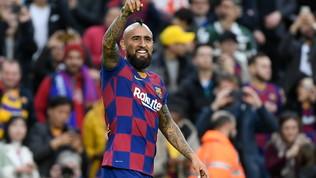 Due settimane per Vidal: Conte lo vuole con il Lecce