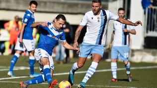 Brescia-Lazio 1-2: doppio Immobile risponde a Balotelli