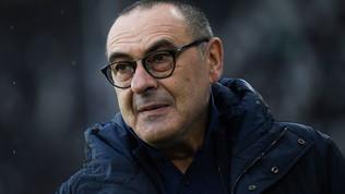 """Sarri: """"Che colpo Kulusevski. Rabiot ha tanto potenziale"""""""