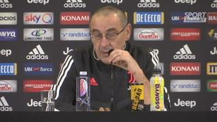 """Juventus,""""Sarri: """"Col Cagliari ci vuole attenzione"""""""
