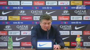 """Torino,""""""""Mazzarri: 'Complimenti a tutti, non solo a Belotti e Sirigu'"""