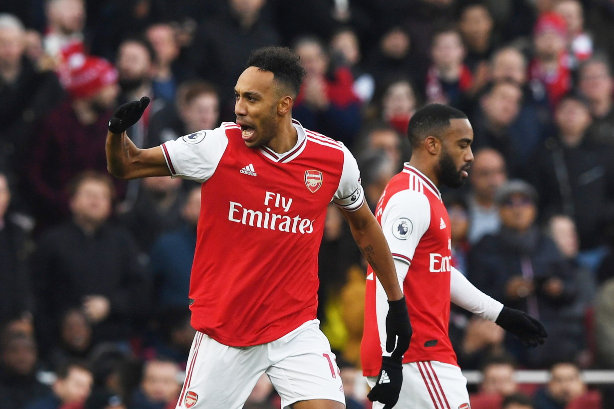 <p>10. Pierre-Emerick Aubameyang, Arsenal (13 gol, 26 punti)</p>