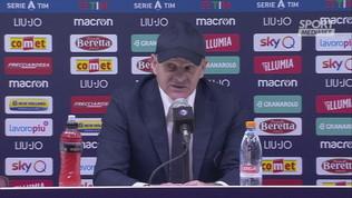 "Fiorentina,""Iachini: ""Due punti persi"""