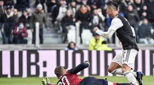 Juventus-Cagliari4-0: le foto del match