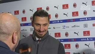 """Ibra: """"Il mio sogno era fare gol, questo Milan si rialzerà"""""""