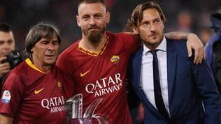 De Rossi lascia il calcio: la carriera in immagini
